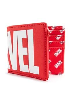 Loungefly MARVEL Logo Red Bi-Fold Wallet