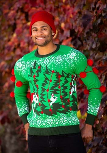 Kitty Trouble Ugly Christmas Sweater for Adults