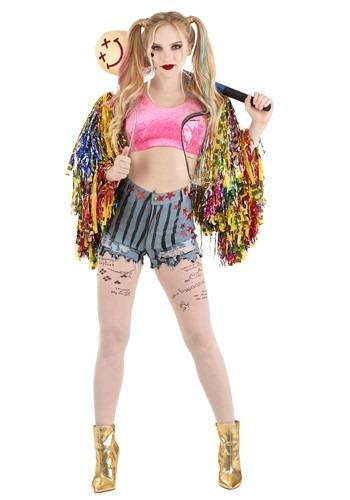 Womens Birds of Prey Premium Harley Quinn Costume