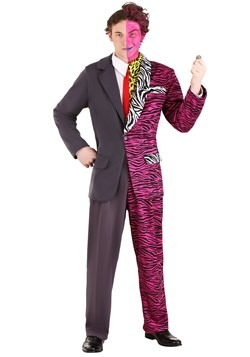 Batman Forever Adult Plus Two-Face Premium Costume