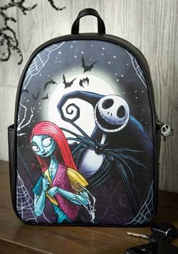 Loungefly Simply Meant to Be Jack and Sally Backpack