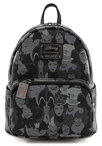 Loungefly Disney Villains Debossed Mini Backpack