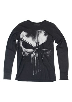 Distressed Punisher Long Sleeve Thermal