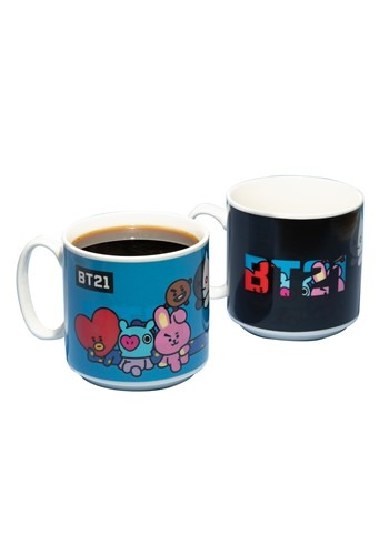 BT21 Heat Change Mug