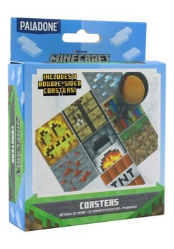 Block Minecraft Coasters New 1