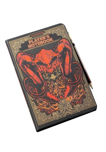 Dungeons & Dragons Notebook & Pencil Set