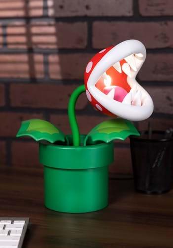 Super Mario Pirhana Plant Posable Lamp