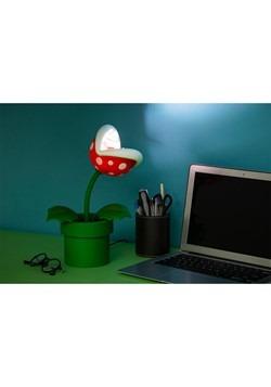 Super Mario Pirhana Plant Posable Lamp Alt 2