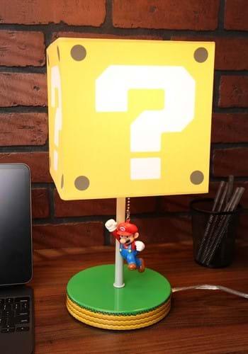 Super Mario Question Block Lamp-update
