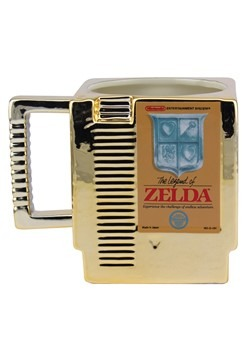 Legend of Zelda Cartridge Shaped Mug
