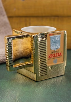 Legend of Zelda Cartridge Shaped Mug Alt 1