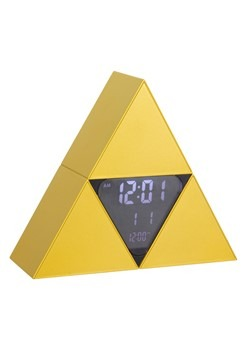 Legend of Zelda Tr-Force Alarm Clock Alt 1