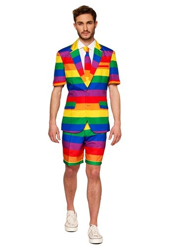 Mens Rainbow Summer Suit Suitmeister