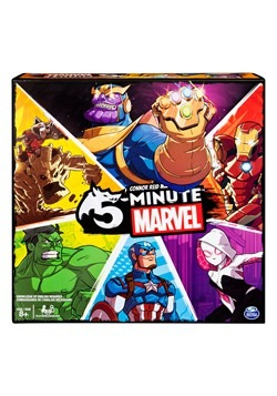 5-Minute Marvel Cooperative Card Game