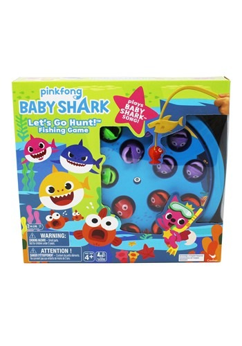 Pinkfong Baby Shark Let's Go Hunt Fishing Game