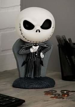 Nightmare Before Christmas Jack Skellington Coin Bank MAIN U