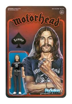 Motorhead Reaction Figure - Lemmy Action Figure