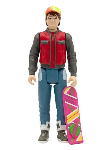 Back to the Future 2 Reaction Wave 1 Marty McFly Figure
