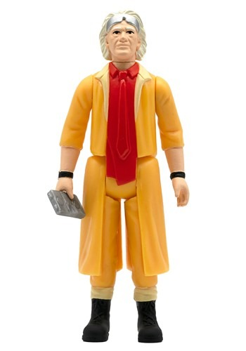 Back to the Future 2 Reaction Wave 1 Doc Brown Fig