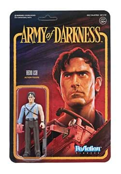 Army of Darkness Ash and Chainsaw Reaction Action Figure