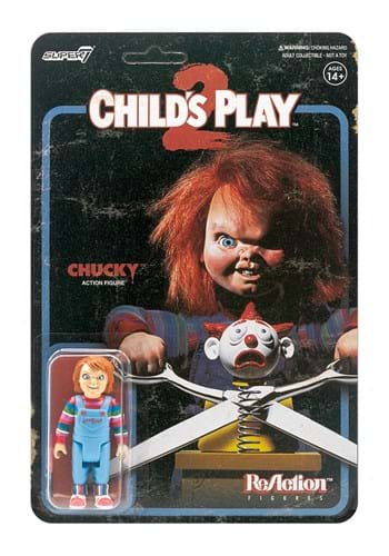 Reaction Childs Play Evil Chucky Action Figure Update