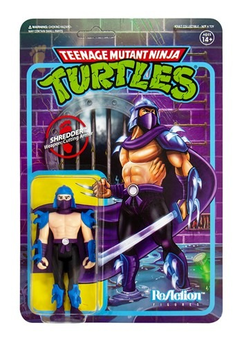 Reaction TMNT Shredder Shredder Action Figure