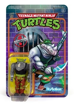 Reaction TMNT Rocksteady Action Figure