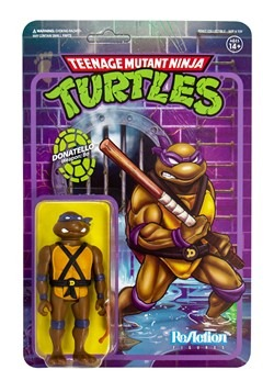 Reaction TMNT Donatello Action Figure