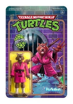 Reaction TMNT Splinter Action Figure