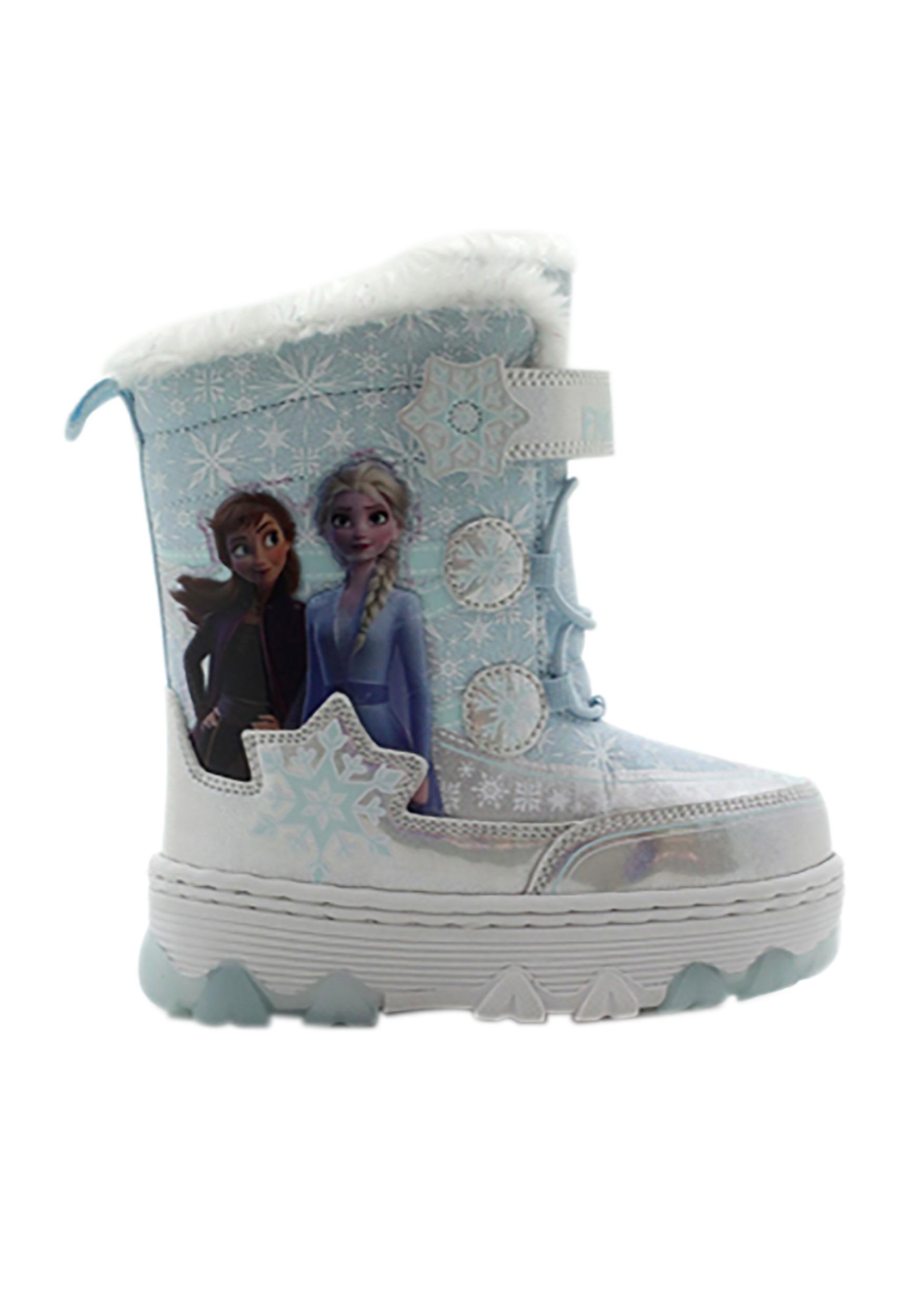 Frozen: Silver Blue Snow Boot