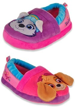 Paw Patrol Everest & Skye Kids Slippers