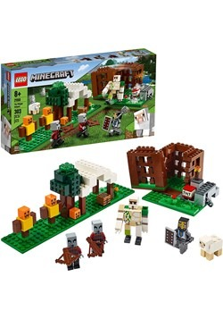 LEGO Minecraft Pillager Outpost Building Set