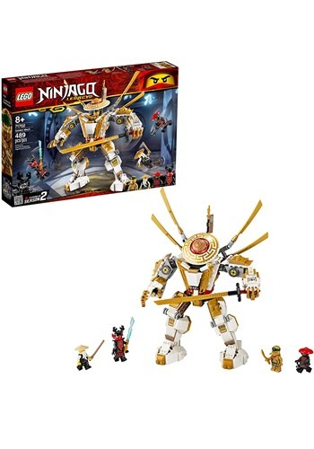 LEGO Ninjago Golden Mech Building Set