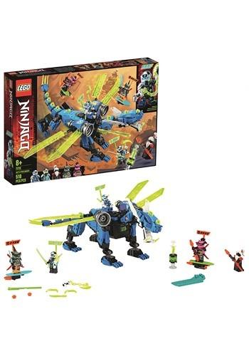 LEGO Ninjago Jays Cyber Dragon Building Set