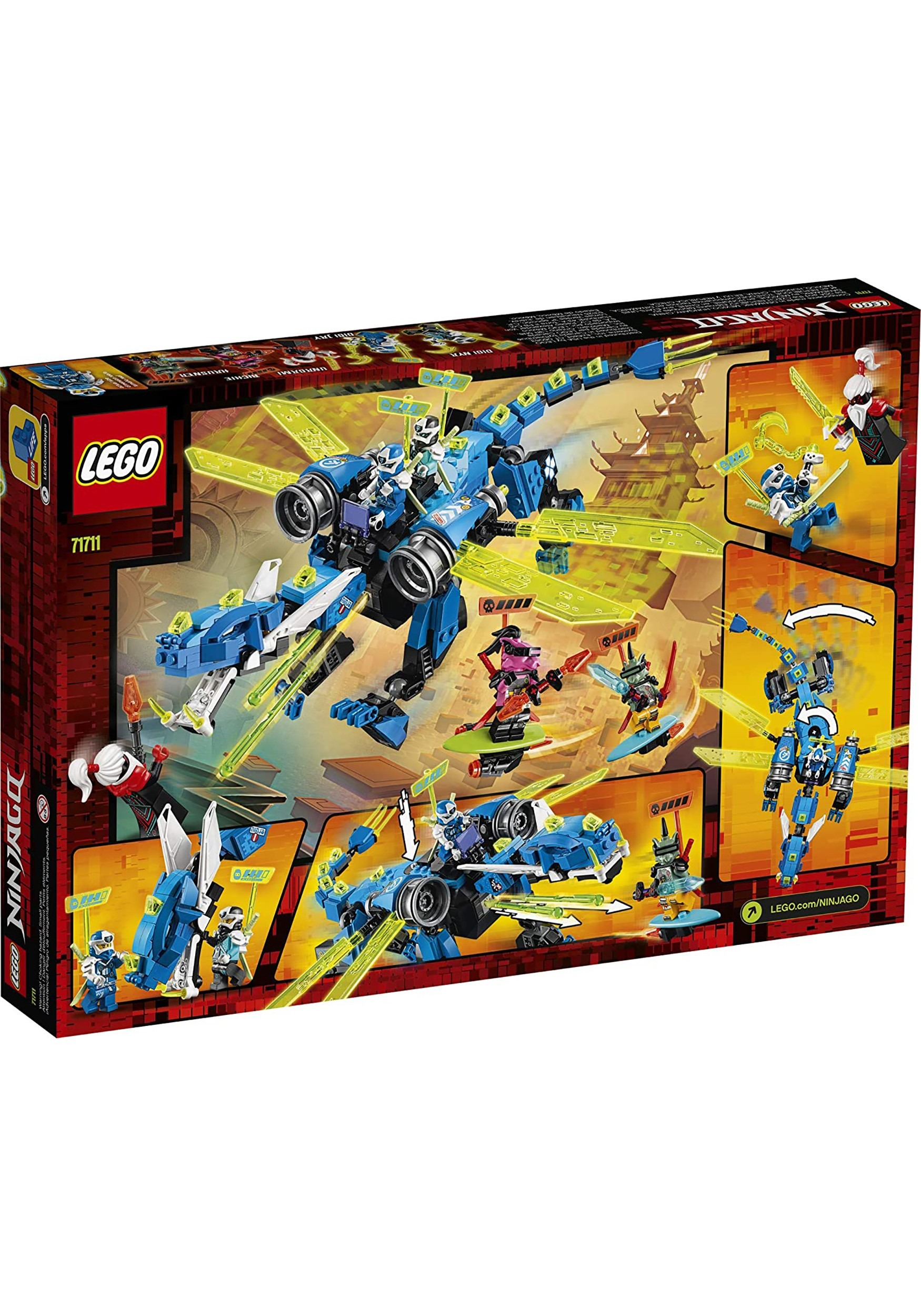 Jay's Cyber Dragon LEGO Ninjago building set
