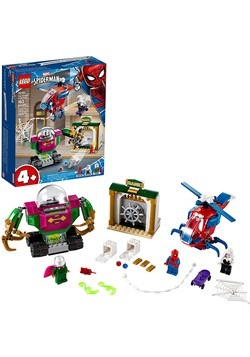 LEGO Super Heroes The Menace of Mysterio Building