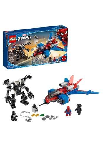 LEGO Super Heroes Spiderjet vs. Venom Mech Update