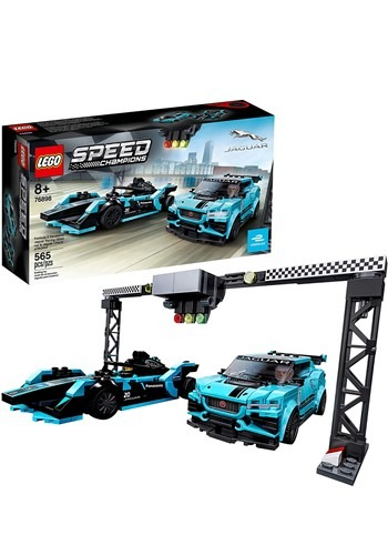 LEGO Speed Champions Formula E Panasonic Jaguar Racing Car