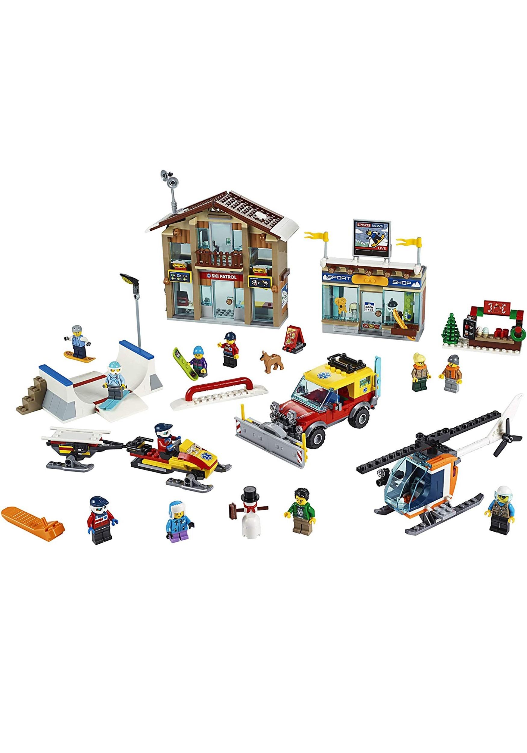 Lego City Ski Resort Set