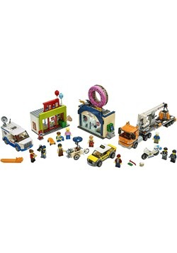 LEGO City Donut Shop Opening Building Set Alt 1