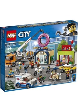 LEGO City Donut Shop Opening Building Set Alt 3