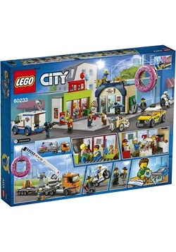 LEGO City Donut Shop Opening Building Set Alt 4