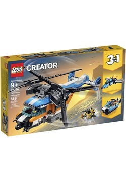 LEGO Creator Twin Rotor Helicopter Building Set Alt 3