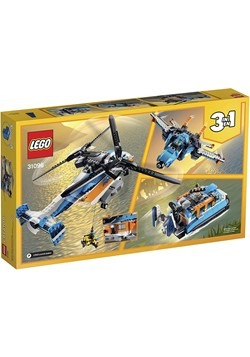 LEGO Creator Twin Rotor Helicopter Building Set Alt 4
