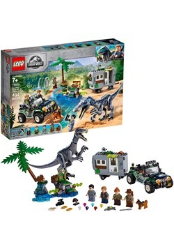 LEGO Jurassic World Baryonyx Face-Off The Treasure