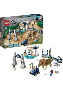 LEGO Jurassic World Triceratops Rampage Building S