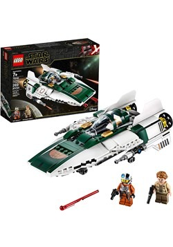 LEGO Star Wars Resistance A-Wing Starfighter Build