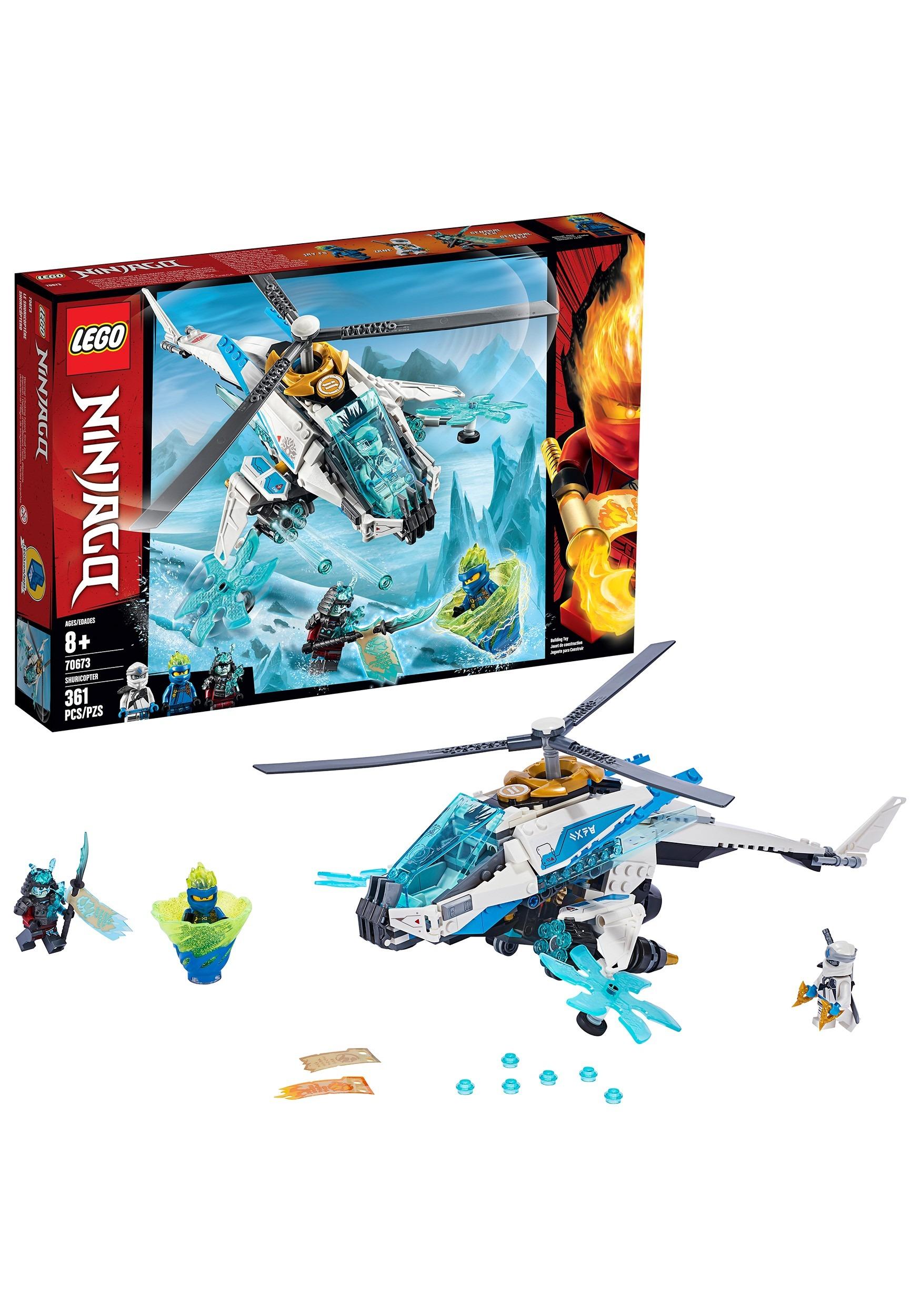 Ninjago LEGO ShuriCopter