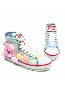 Irregular Choice Care Bears Cute Adorable Sneakers