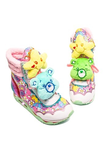 Irregular Choice Care Bears Born to Care Platform Sneakers